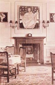 Nostalgia Postcard Tea Room at Crawfords, Edinburgh 1926 Reproduction Card N4100
