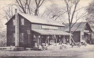 New York Chatham Center The Red Wagon Coutry Store County Route 17 Artvue