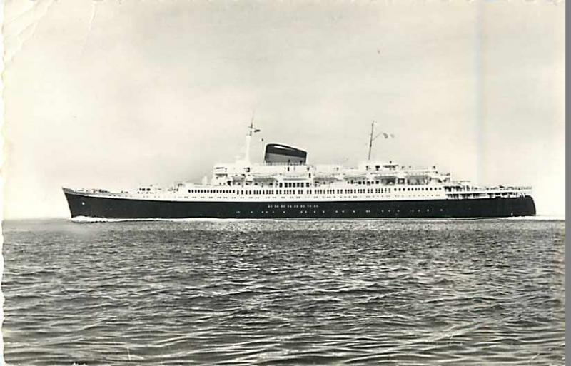 RPPC of the Compagnie Generale Transatlantique French Line Flandre