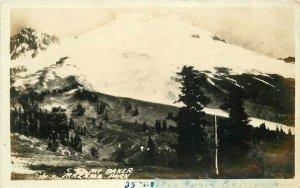 1920s Mt Baker Mazalama Park Washington RPPC Photo Postcard 20-3842