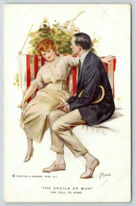 ZP Nikolaki~The Spoils of War~Call to Arms~Couple in Striped Swing~Redhead~R&N