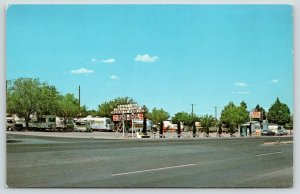 Deming New Mexico~Martins Trailer Park~West Pine Street~Overnight Parking~1976