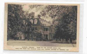Home Of The Carters Since 1723, Shirley, Virginia, 1900-1910s