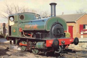Postcard Hudswell No.1882 MIRVALE 0-4-0ST Middleton Railway Steam Locomotive