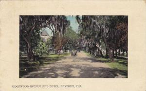 Dirt road to Ridgewood Avenue and Hotel,  Daytona, Florida, PU-00-10s