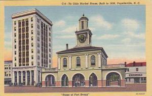 Ye Olde Market House, Built in 1838, Fayetteville, North Carolina, PU-1944