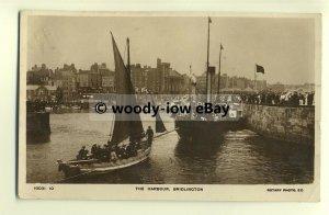 tp8693 - Yorks - Pleasure Cruises from the Harbour c1912, Bridlington - Postcard