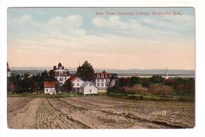 Rear View, Seminary College, Wolfville, Nova Scotia