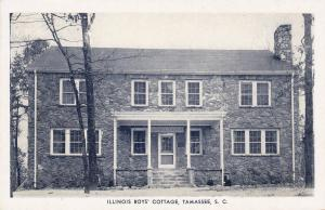 Illinois Boys' Cottage, TAMASSEE, South Carolina, 10-30s