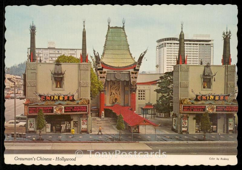 Grauman's Chinese - Hollywood
