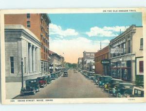 W-Border STREET SCENE Boise Idaho ID W1931
