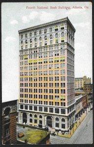 Fourth National Bank Building Atlanta Georgia Unused c1905