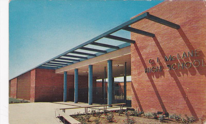C.L. McLANE High School , FRESNO , California , 50-60s