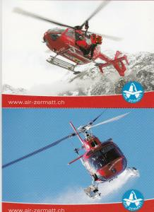 AIR ZERMAT Helicopter , Switzerland  , 80-90s