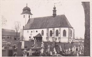 RP, LITOMYSL, Czech Republic, 1920-1940s; Church, Graves