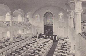 Rhode Island Providence Interior First Baptist Meeting House