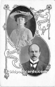 Alice Roosevelt & Nicholas Longworth Unused