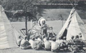 The Indian Village Camp Miller Shawnee-On-Delaware Pennsylvania Artvue