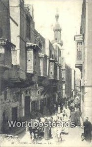 A Street Cairo Eqypt Unused
