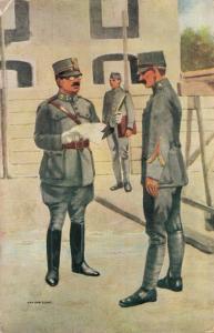 Military postcard Genie 02.14