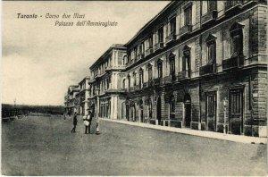 CPA Taranto Corso due Mari Palazzo dell'Ammiragliato ITALY (802774)