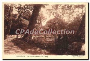 Old Postcard Houlgate Le Moulin Landry L'Etang