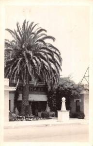 Santa Maria California Massy Hotel Real Photo Antique Postcard J71016