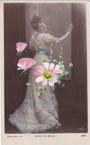 Miss Lily Mills Actress Real Photo