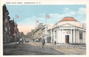 North Main Street Gloversville, NY, USA Postcard Post Card Gloversville, NY, ...