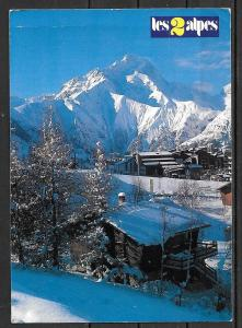 1991 France Dauphine, Les 2 Alps, mailed from Italy