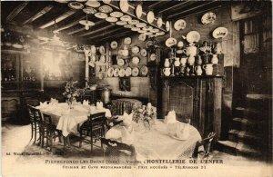 CPA PIERREFONDS-les-BAINS Visitez L'Hostellerie de L'Enfer (424319)