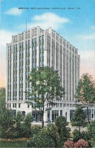Knoxville Tennessee~Medical Arts Building~1940s Postcard