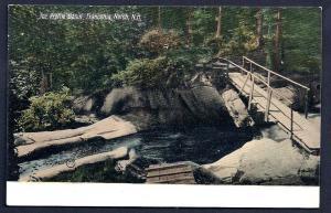 Profile Basin Franconia Notch New Hampshire unused c1910