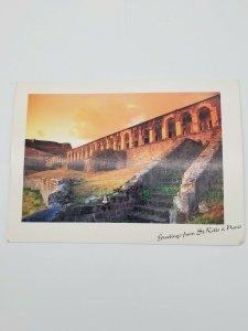 Brimstone Hill National Park St Kitts Vintage Postcard