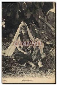 Old Postcard Moorish Oriental Beauty Woman