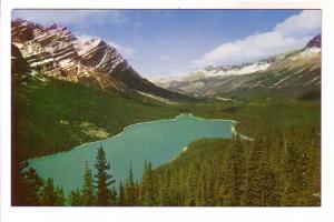 Mount Patterson, Peyto Lake, Alberta, Canadian Rockies, Byron Harmon