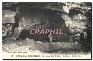Old Postcard Baume Messeurs the Interior Caves Room Small Lakes