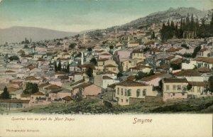 turkey, SMYRNA SMYRNE IZMIR, Turkish Quarter Mount Pagus 1899 Acropole Postcard