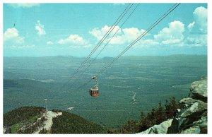 Aerial Tramway at Jay Peak North Troy Vermont Postcard