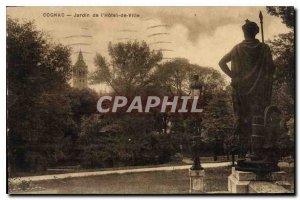 Postcard Old Cognac Garden City Hotel