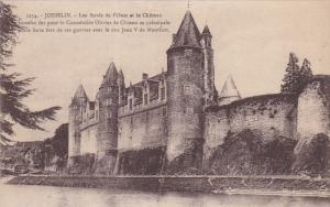 Les Bords De l'Ouest Et Le Chateau, JOSSELIN (Morbihan), France, 1900-1910s