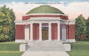 Texas Houston General Sam Houston Memorial Museum