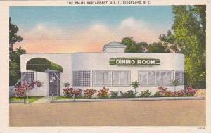 South Carolina Ridgeland Palms Restaurant
