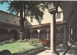 FIRENZE, Italy, Museo S. Marco, Il Chiostro, The Cloister, unused Postcard