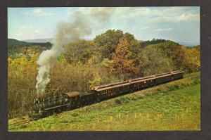 PA East Broad Top Railroad Train ROCKHILL FURNACE PENN Postcard Pennsylvania