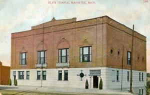 MI - Manistee, Elks Temple