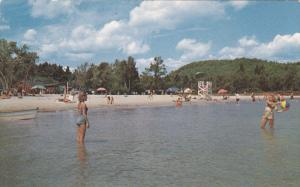 Beach , Lake Sunapee , New Hampshire , 50-60s