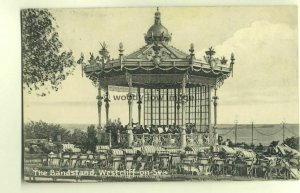 tp4574 - Essex - The Band, Bandstand & Audience at Westcliff-on-Sea - Postcard