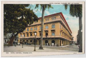 Hotel Central, City of Panama