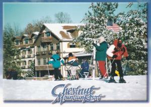 Illinois Galena Chestnut Mountain Ski Resort